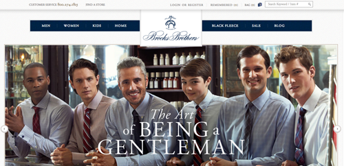 Top 50 ecommerce websites paul rogers - Brooks brothers corporate office ...
